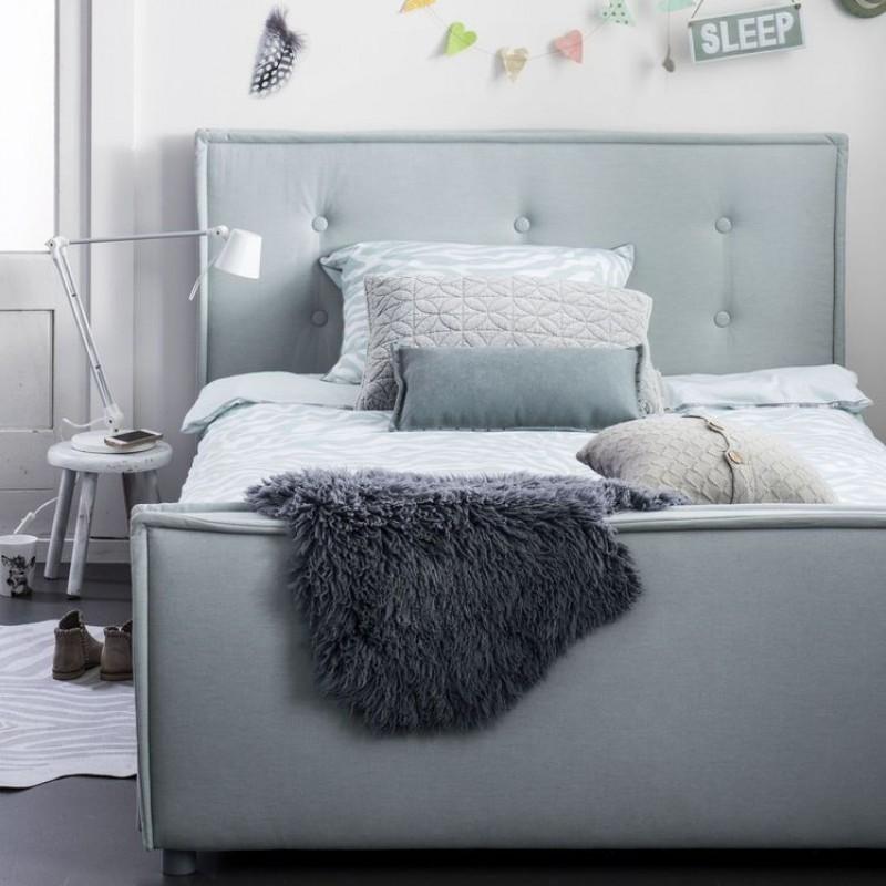 Coming Kids Sun gestoffeerd bed 90x200 cm | Verwende Apen